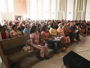 O evento trouxe informações sobre os projeto que serão desenvolvidos este ano no Ministério da Mulher