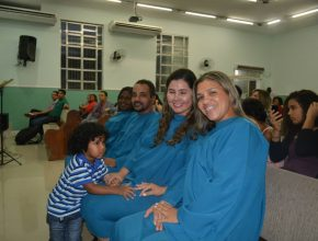 Sheila, Mariléia, Marcio e Fabiane. (Dir. para esq.) Fotos: IASD Itaguaí