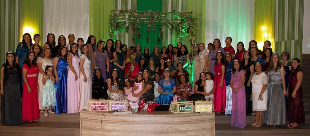 Equipe de esposas de pastores da IASD do Norte do Maranhão.