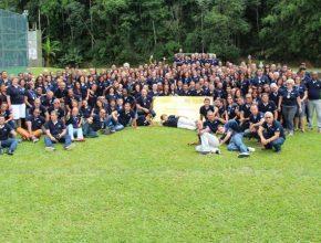 260 líderes participaran do Encontro em Penedo. No total, foram 300 pessoas no evento, entre participantes e equipe de apoio.