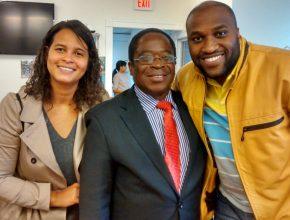 Em visita ao Congo, André e sua esposa Patricia se encontraram com o líder Noah Kasereka Musema – Presidente da North East Congo Union Mission. O pastor Noah enviou a ele o relatório das ofertas recebidas do 13º sábado e o que foi feito com elas.