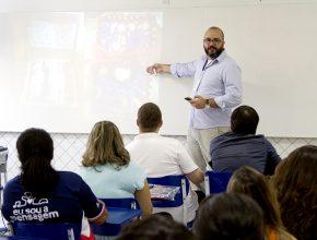 Pr Felipe Tonasso fala sobre maneiras de discipulado.