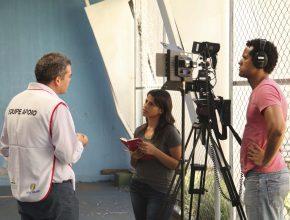O programa Educação esteve em Curitiba gravando diversos temas para os próximos programas, inclusive sobre a Feira de Saúde na escola