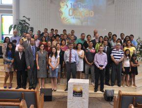 Grupo da Igreja Mangueiras em Tatuí que aderiram o movimento