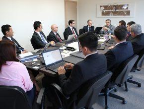 Diretores de departamentos estiveram reunidos com a liderança da IASD.