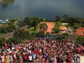 As participantes do Ministério da Mulher tiveram um fim de semana especial em Santa Catarina.