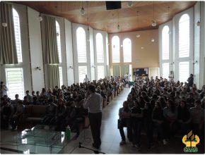Os colégios Alto Boqueirão, São José dos Pinhais e Centenário receberam a palestra sobre Educação Financeira