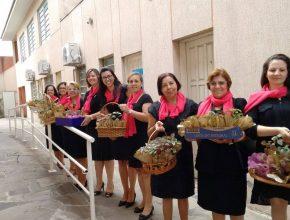 Demais  igrejas do centro do RS,  também realizaram atividades para o dia da igreja acolhedora.