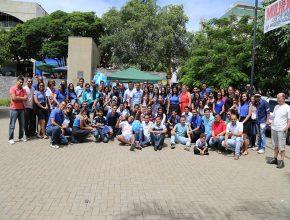Jovens unidos na defesa do uso correto da água