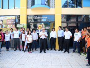 Líderes adventistas, juntamente com profissionais de saúde, inauguraram o centro.