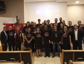 A cada ano a equipe do escritório realiza a Semana Santa em uma igreja adventista diferente