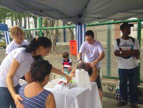 250 pessoas tiveram acesso à Feira de Saúde. (Fotos: Fabiana Lopes)