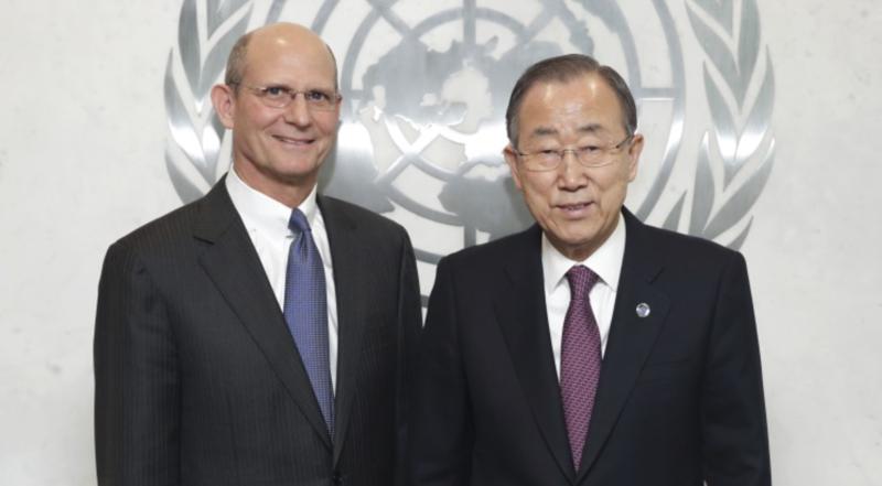 Presidente-mundial-adventista-realiza-reuniao-com-secretario-da-ONU
