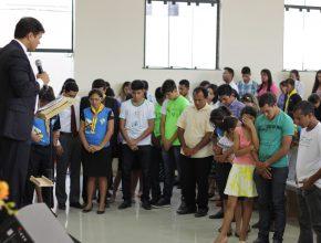 Jovens formam a maioria dos fiéis da IASD nos estados do Pará, Amapá e Maranhão. [Foto: Nonato Alves]