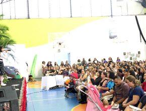 Cerca de 480 líderes se reuniram no treinamento.