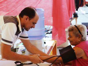 Moradores receberam atendimentos de saúde gratuitos