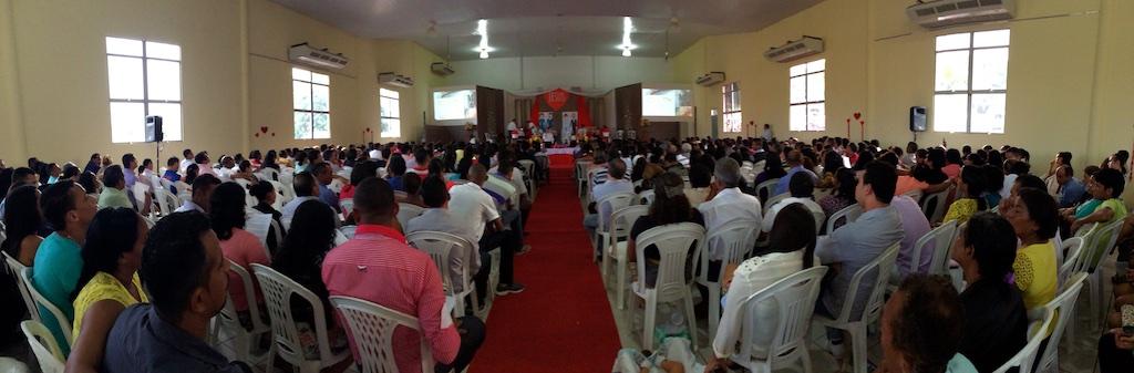 500 casais participam do Encontro Família Feliz na capital maranhense