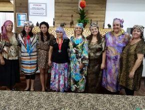 Vários países africanos foram representados no encontro em Palmeira das Missões. Foto: Míriam Jacinto.