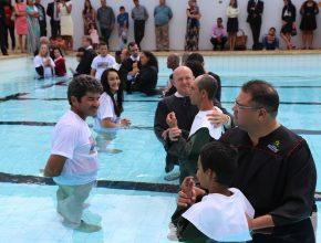 Batismos Encontro de Tesouraria e Mordomia