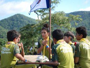 Acampados em barracas os 1300 desbravadores se prepararam por um ano para participar do Campori