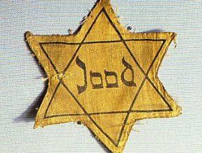 Estrelas eram presas às roupas e diferenciavam judeus de alemães.