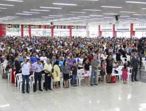 População de Manaus compareceu em peso ao evento que contou com a presença, também, de dois vereadores e um deputado estadual