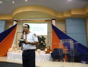 Um sermão direcionado aos pais e as crianças foi feito em comemoração ao Dia Mundial dos Aventureiros