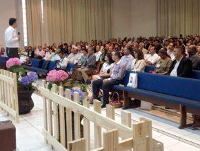 O pastor Alacy Barbosa, diretor geral do Unasp HT,  foi o palestrante oficial do encontro