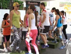 Exame físico chamou a atenção dos esportistas