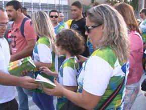 310 mil livros distribuídos na região central do Rio de Janeiro