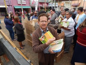 O distrito de Avaré distribuiu 14 mil livro