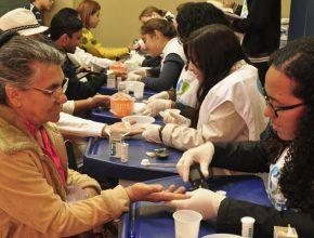 Na cidade de Tatuí teve a parceria com a Secretária de saúde do Município
