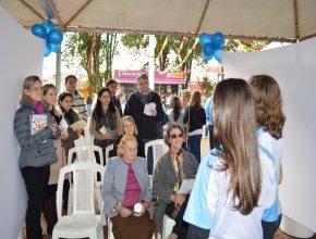A feira na cidade de Itararé teve o envolvimento dos alunos do Colégio Adventista