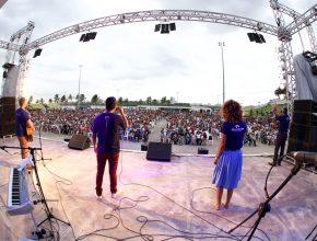Trio Discípulos também se apresentou na Celebração Novo Tempo da capital maranhense.