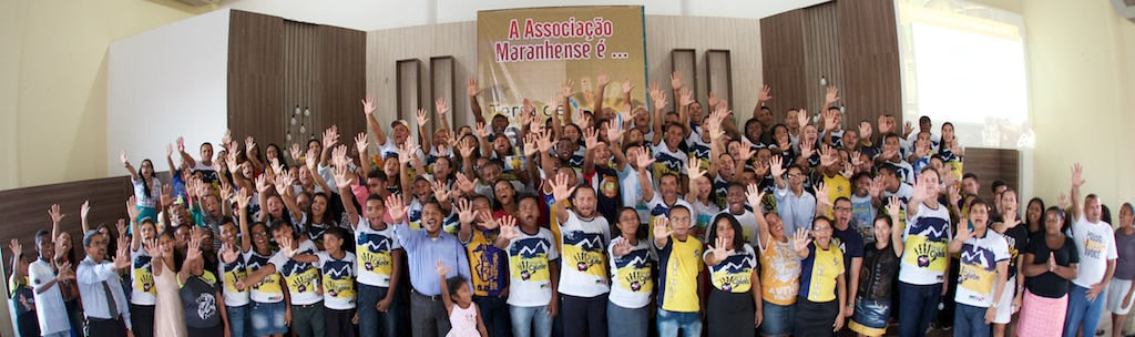 Jovens participam de treinamento para a Missão Calebe, na capital maranhense.