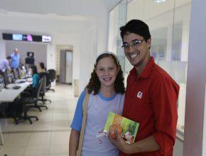 O jornalista Valdivan Veloso, do Portal G1 elogiou a iniciativa dos alunos