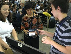 Delegados tiveram de se registrar antes de votar