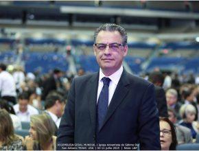 Pr. Marlon Lopes foi reeleito tesoureiro da Igreja para oito países sul-americanos