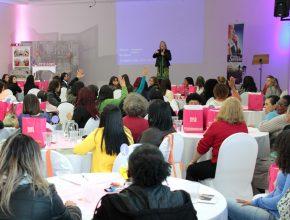 Durante dois dias as mulheres aprenderam valores importantes para o sucesso.