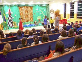 Escola Cristã de Férias no colégio de Santo Amaro.