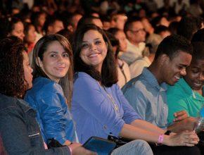 Juventude prestigiou o evento realizado em Lauro de Freitas/BA
