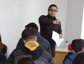 Desbravadores de Erechim participam de treinamento.