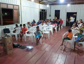 Na comunidade Nazaré os calebes, juntamente o Instituto Kaleo, reformaram a Igreja Adventista que estava inativa por quase dois anos, em decorrência da enchente do Rio Madeira