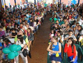 Sob liderança do Pastor Esdras Ribeiro, líder do distrito Jardim Guanabara, em Dourados, a ECF 2015 teve o maior número de inscritos: 308.