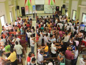 Treinamento na Igreja Adventista Nova Porto Velho, no dia 1º de agosto