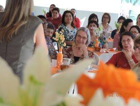 O encontro reuniu mulheres da fronteira oeste.  Foto: Valentina Paiva