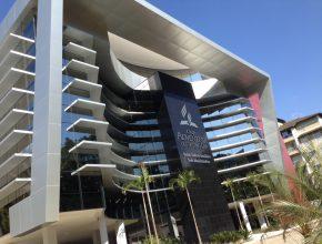 Fachada do novo prédio da União Sudeste Brasileira