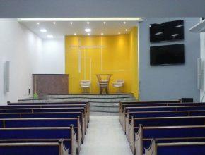 Igreja de Dark de Matos tem capacidade de receber até 210 pessoas