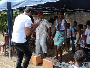 Comunidade participou de um carrossel de atividades.