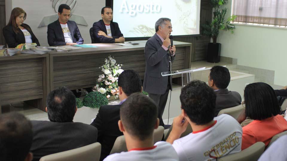 Na sede adventista o projeto já começou a ser vivido pelos servidores do escritório. Ideia é chegar à comunidade.